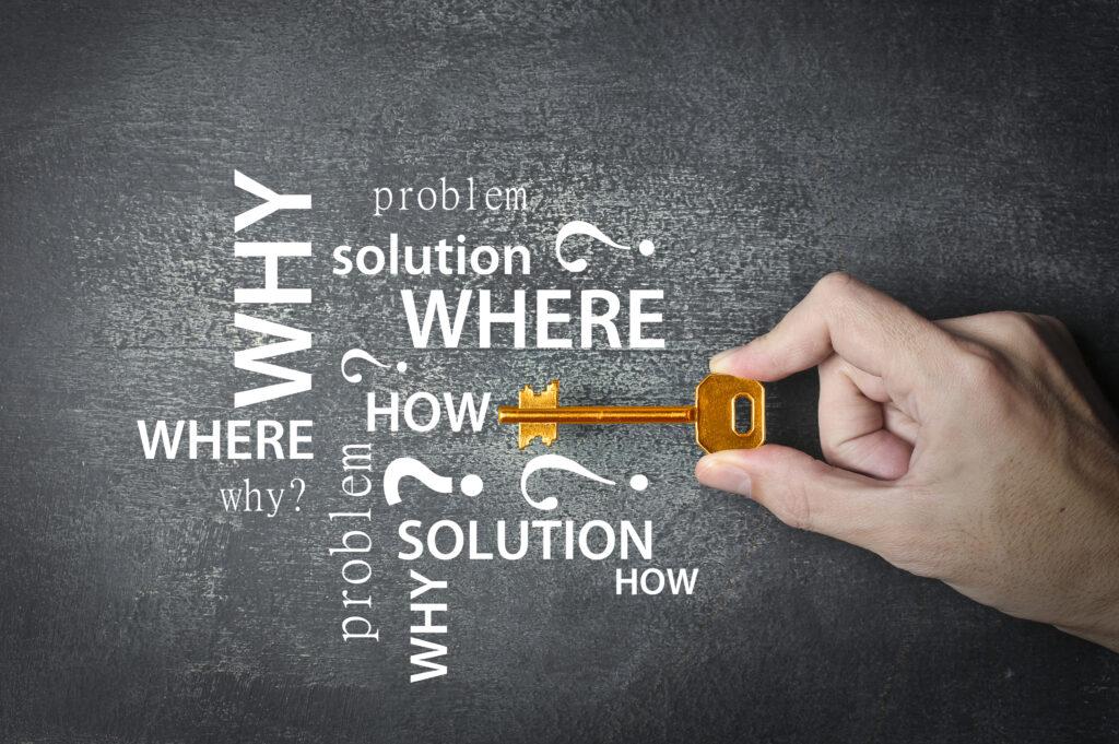 Die 6 Schlüsselfragen für KMU